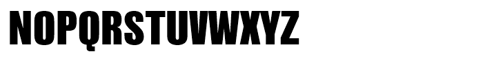 Nimbus Sans L Extra Black Condensed Font UPPERCASE