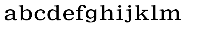 Nimrod Small Ads Regular Font LOWERCASE