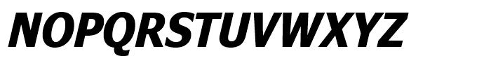 Nina Bold Italic Font UPPERCASE