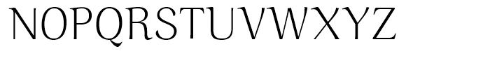 Ninfa Light Font UPPERCASE