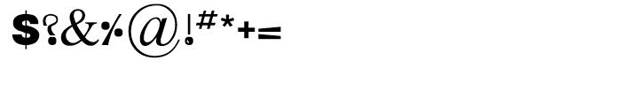 Nisha Medium Font OTHER CHARS