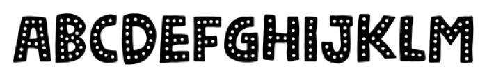 Nickname 2 Font LOWERCASE