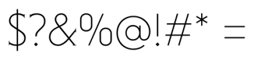 Niveau Serif ExtraLight Small Caps Font OTHER CHARS