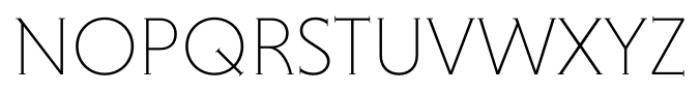 Niveau Serif ExtraLight Small Caps Font UPPERCASE