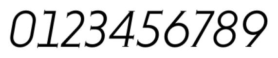 Niveau Serif Light Italic Font OTHER CHARS