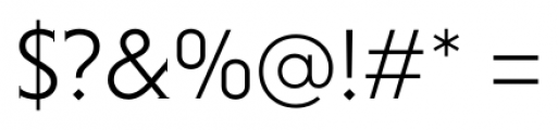 Niveau Serif Light Font OTHER CHARS