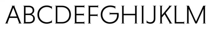 Niveau Serif Light Font UPPERCASE