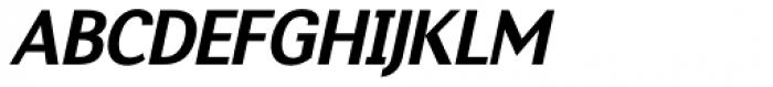 Nic Extra Bold Italic Font UPPERCASE