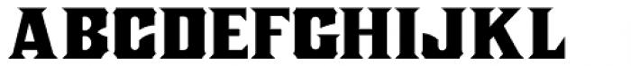 Nickel Box NF Font LOWERCASE