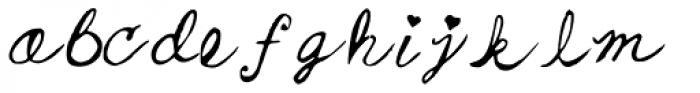 Nicki Font LOWERCASE
