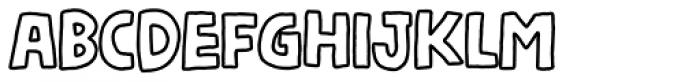 Nickname4 Font LOWERCASE