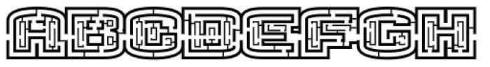 Nicodemus Font UPPERCASE