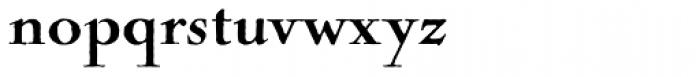 Nicolas Cochin Antique D Black Font LOWERCASE