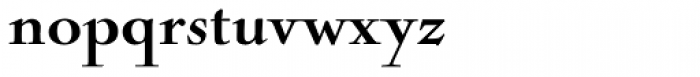 Nicolas Cochin Black Font LOWERCASE