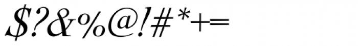 Nicolas Cochin Italic Font OTHER CHARS
