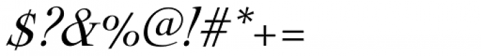 Nicolas Cochin Pro Italic Font OTHER CHARS