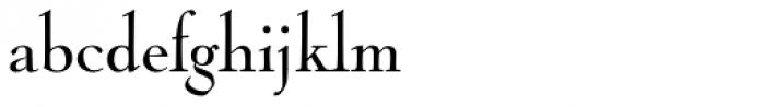 Nicolas Cochin Pro Regular Font LOWERCASE