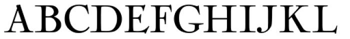 Nicolas Cochin Regular Font UPPERCASE