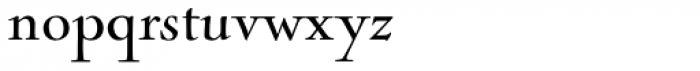 Nicolas Cochin Regular Font LOWERCASE