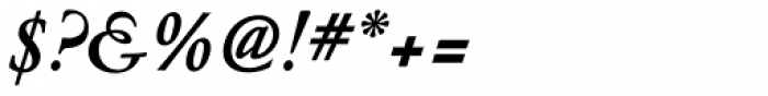 Nicolas Jenson SG Bold Italic Font OTHER CHARS