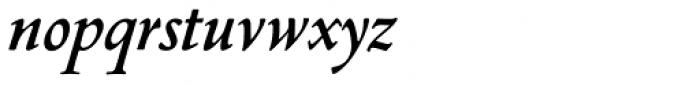 Nicolas Jenson SG Bold Italic Font LOWERCASE