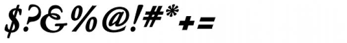 Nicolas Jenson SG ExtraBold Italic Font OTHER CHARS