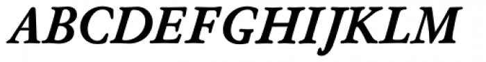 Nicolas Jenson SG ExtraBold Italic Font UPPERCASE