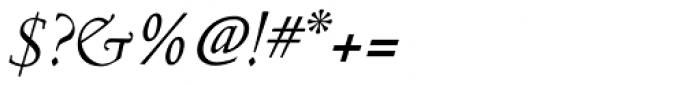 Nicolas Jenson SG Italic Font OTHER CHARS