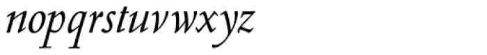 Nicolas Jenson SG Italic Font LOWERCASE