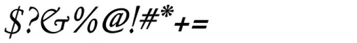 Nicolas Jenson SG Medium Italic Font OTHER CHARS