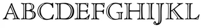 Nicolas Jenson SG Open Font UPPERCASE