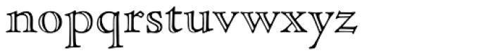 Nicolas Jenson SG Open Font LOWERCASE