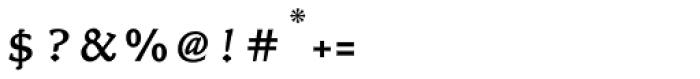 Nicolas Jenson SG Regular Petite Caps Font OTHER CHARS