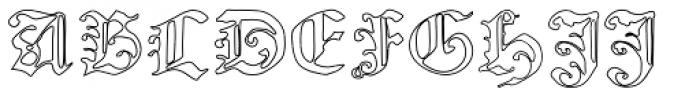 Nicolaus Kesler Void Font UPPERCASE