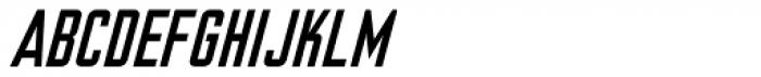 Nicotine Italic Font UPPERCASE