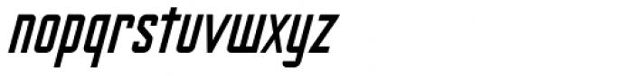 Nicotine Italic Font LOWERCASE