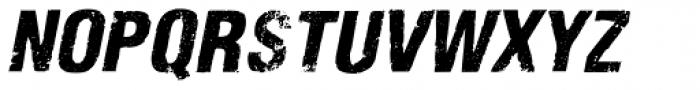 Nidex Expd Italic Font UPPERCASE