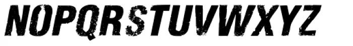 Nidex Expd Italic Font LOWERCASE