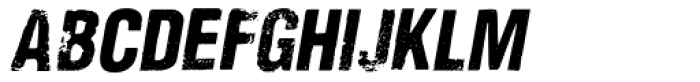 Nidex Italic Font UPPERCASE