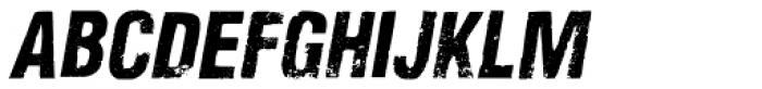 Nidex Italic Font LOWERCASE