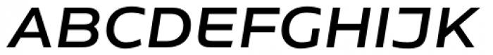 Niemeyer Medium Italic Font UPPERCASE