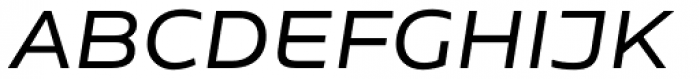 Niemeyer Regular Italic Font UPPERCASE