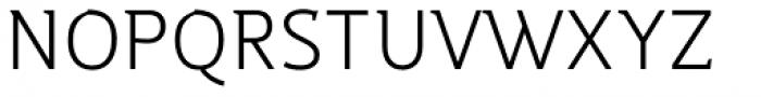Night Serif Light Font UPPERCASE