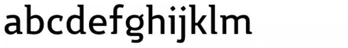 Night Serif Medium Font LOWERCASE