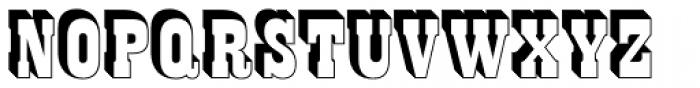 Night Train Open TL Font UPPERCASE