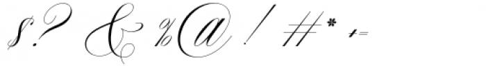 Nightingale Regular Font OTHER CHARS