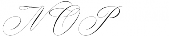 Nightingale Regular Font UPPERCASE