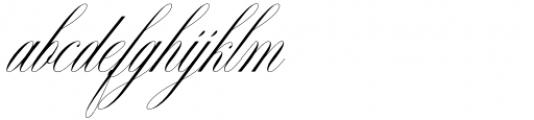 Nightingale Regular Font LOWERCASE