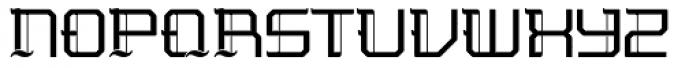 Nightjar Regular Font UPPERCASE