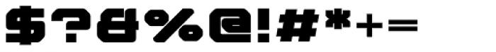 Nightjar Text Black Font OTHER CHARS